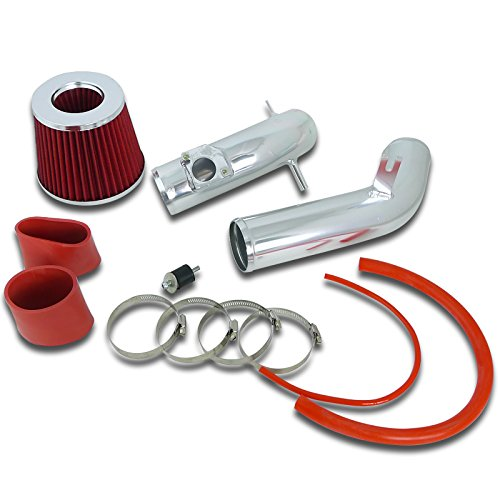 Spec-D Tuning AFC-MZ603L4RD-AY Mazda 6 i 2.3L L4 Sedan Hatchback Cold Air Intake+Red Filter Rubber Cylinder Head Mount