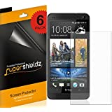 SUPERSHIELDZ- High Definition (HD) Clear Screen Protector For HTC One (M7) + Lifetime Replacements Warranty [6-PACK] [AT&T, Verizon, Sprint, T-mobile, All Carriers] - Retail Packaging
