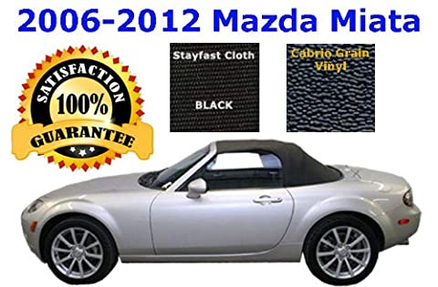 Mazda Miata Convertible Top and Heated Glass Window | MATERIAL CHOICE