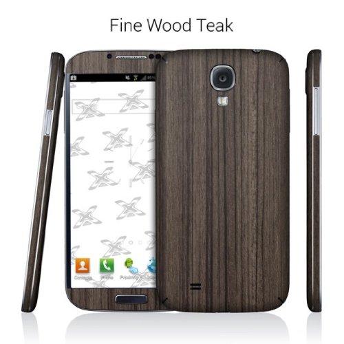EXODecal Skin Vinyl Decal Skin For Samsung Galaxy S4 - Fine Wood Teak
