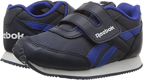 Reebok Unisex-Kids Royal Cljog 2RS KC Sneaker, Collegiate Navy/Vital Blu, 5.5 Child US Little Kid