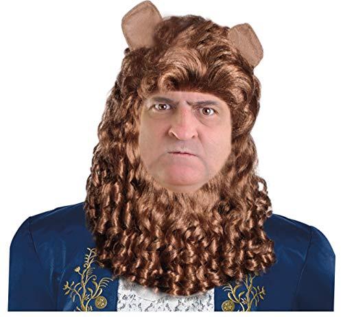 Beast Halloween Mask (Beast Wig Beast Costume Wig Lion Wig Lion Costume Wig Lion Wig Human)