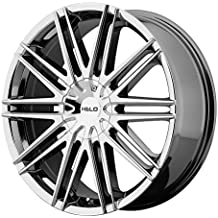 "Helo HE880 Bright PVD Wheel (20x8.5""/5x114.3, 120.7mm, 42mm offset)"