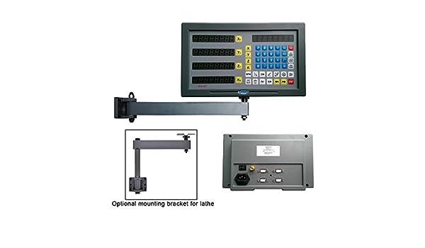 sinocmp 4-Axis Digital sistema de lectura para molinillo torno máquina: Amazon.es: Bricolaje y herramientas