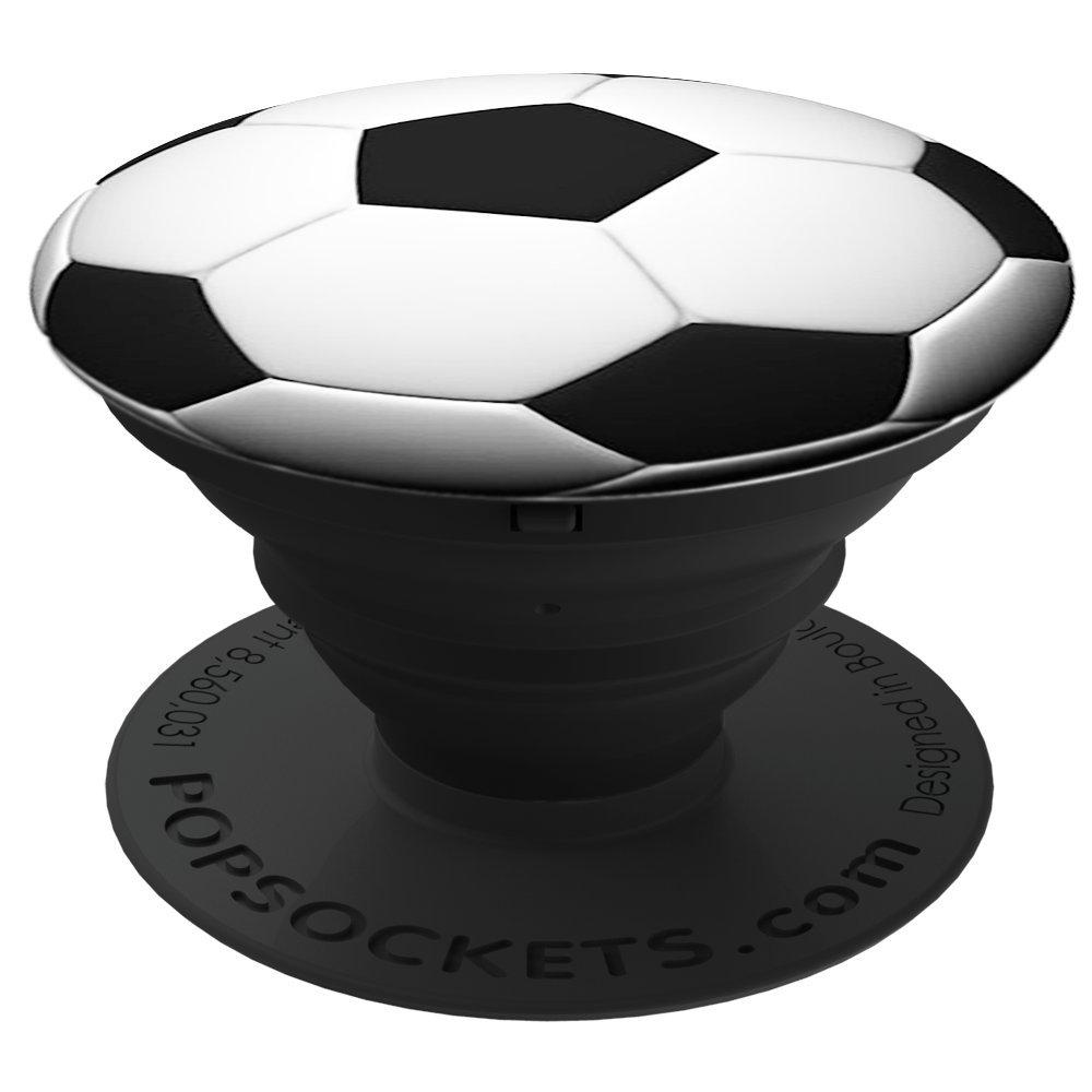 PopSockets Soporte telescópico para Smartphones y tabletas Estilo Soccer Ball
