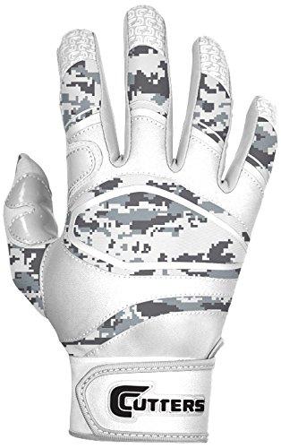 カッター手袋電源コントロール手袋 B00Q9ML20U Large|ホワイト/迷彩 ホワイト/迷彩 Large