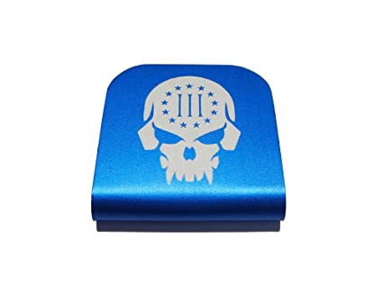 318e167c874b III Percent Punisher Morale Tag for Your Hat! Clips Right On!