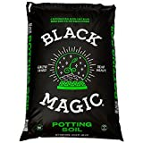 Black Magic Potting Soil A Supernatural Blend That Helps Grow Buds Big And Roots Strong, No Need To Fertilize Within The First 30 Days - 1.5 Cu. Ft.