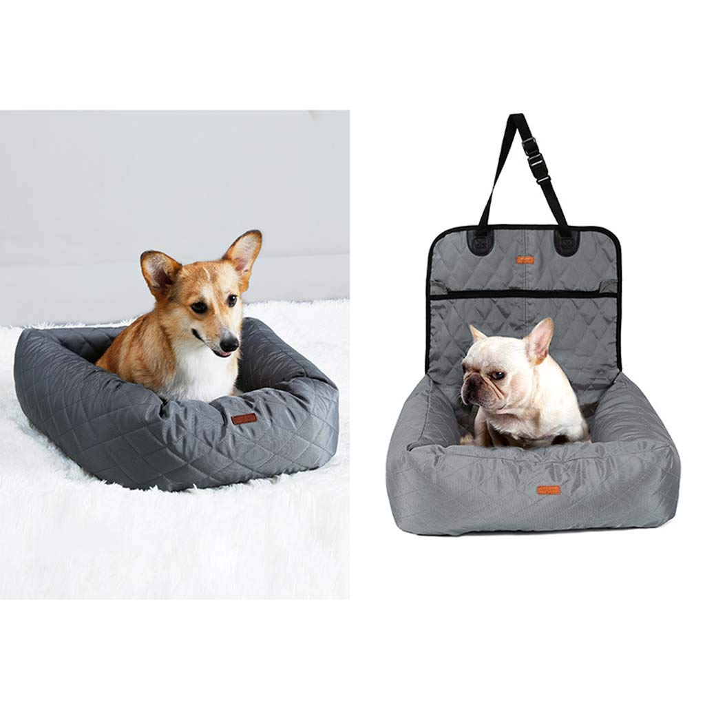 3 MMMMM Multi-function dog car mat front and rear row car thickening pet mat removable and washable warm pet nest