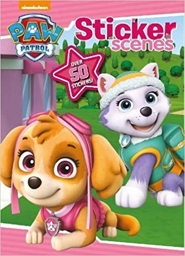 Buy Nickelodeon Paw Patrol Sticker Scenes Over 50 Stickers