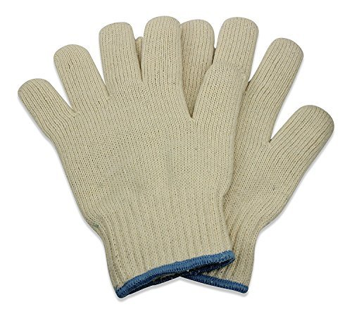 Oven Gloves - Set of 2 - Heat Resistant Mitt Sets by KEKLLE