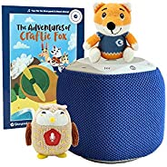 Storypod Starter Set with 2 Crafties & 1 Book - Kids Music Player - Interactive Audio Learning Toy for Tod