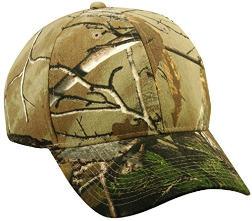 (Realtree Adjustable Closure Youth Blank Cap, Realtree Xtra Camo)