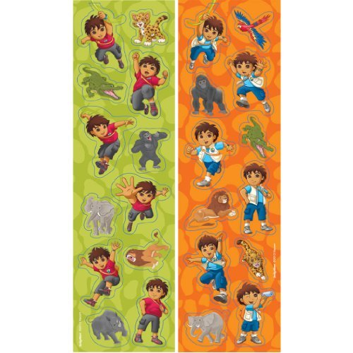 Diego's Biggest Rescue Sticker Sheets (8ct)