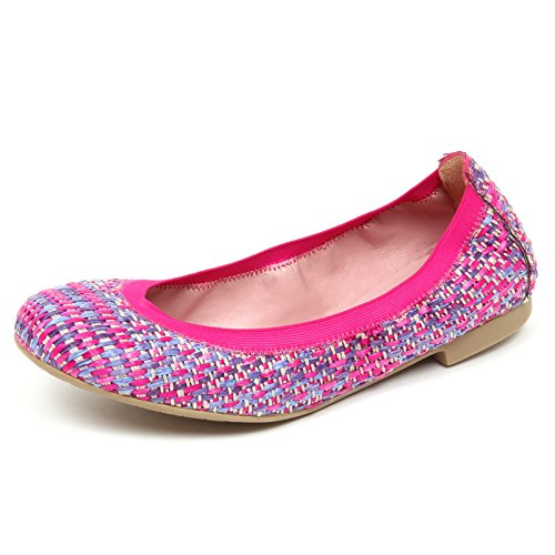 Tissue Fucsia Shoe Ballerina Pretty Scarpe Ballerinas Woman Donna E1900 vw1qXIZq