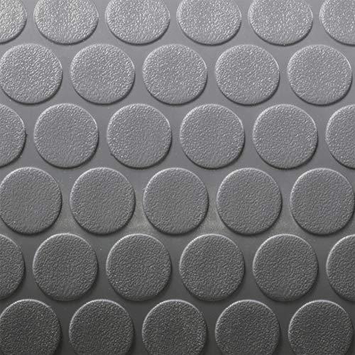(RecPro Trailer Coin Flooring | Gray | 8' 6