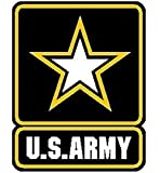 1-Pcs First-class Fashionable US Army Sticker Signs Car Decals Military Home Size 3.5
