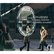 Antonini/ Il Giardino Armonico Haydn 2032 Vol.2-Il Filosofo: Sinfonien 22/+ Symphonic Music