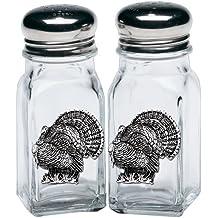 Heritage Pewter Turkeys Salt & Pepper Shakers