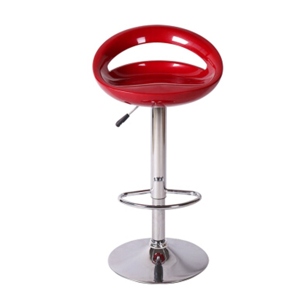Red 79-97cm YUBIN Bar Stool, Stool, Dining Chair, Bar Chair, Bar Stool, Lift, High Stool, orange red 79-97cm (color   Yellow, Size   79-97cm)