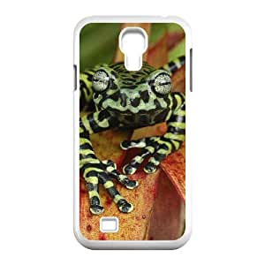 HXYHTY Customized Frog Pattern Protective Case Cover Skin for Samsung Galaxy S4 I9500