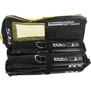 FCS Premium DOUBLE SOFT Surfboard Car Racks