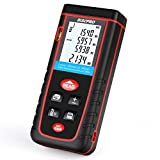 Laser Distance Meter, RISEPRO Digital Laser Rangefinder 100 Meters 328 feet Mini Handheld Area Volume Measure Diastimeter