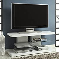 Coaster Home Furnishings 700824 Contemporary TV Console, White