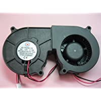 2 pcs Brushless DC Blower Fan 7530S 12V 2 Wires 75x75x30mm Sleeve-bearing Skywalking