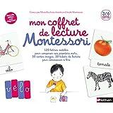 Mon coffret de lecture Montessori 3/6 ans