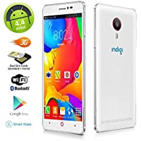 INDIGI® V13 UNLOCKED 3G SMARTPHONE PHABLET 5.5 SCREEN ANDROID 4.4 DUAL CAMERA DUAL SIM CARD SLOT STANDBY