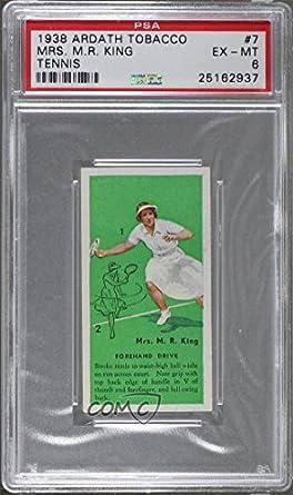 7a33c8dba0ee8 Amazon.com: Mrs. M.R. King PSA GRADED 6 (Trading Card) 1938 Ardath ...