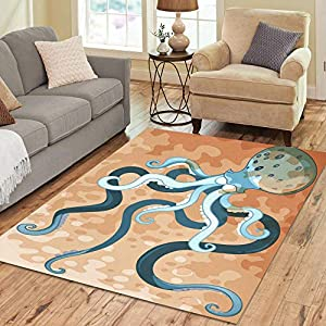 510qpREmdDL._SS300_ 50+ Octopus Rugs and Octopus Area Rugs