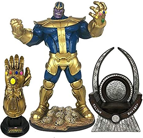 The Avengers 3 Infinity War Movie Thanos Action Figure PVC Toys Gift