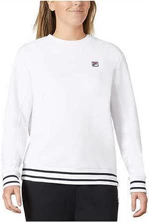 Fila Womens Terry Crewneck Sweatshirt
