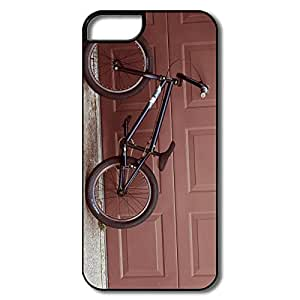 Amazing Design Bike Wall IPhone 5/5s Case For Birthday Gift