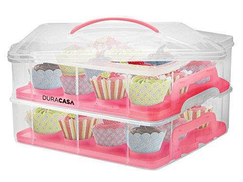 duracasa-cupcake-carrier-cupcake-holder-store-up-to-24-cupcakes-or-2-large-cakes-stacking-cupcake-st