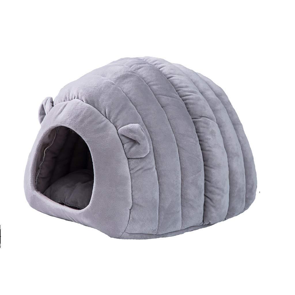 1  405055cmOrderSoil Cat Litter Winter SemiClosed Cat Litter Winter Warm Nest House Kennel Deep Sleep Cat Sleeping Bag Villa