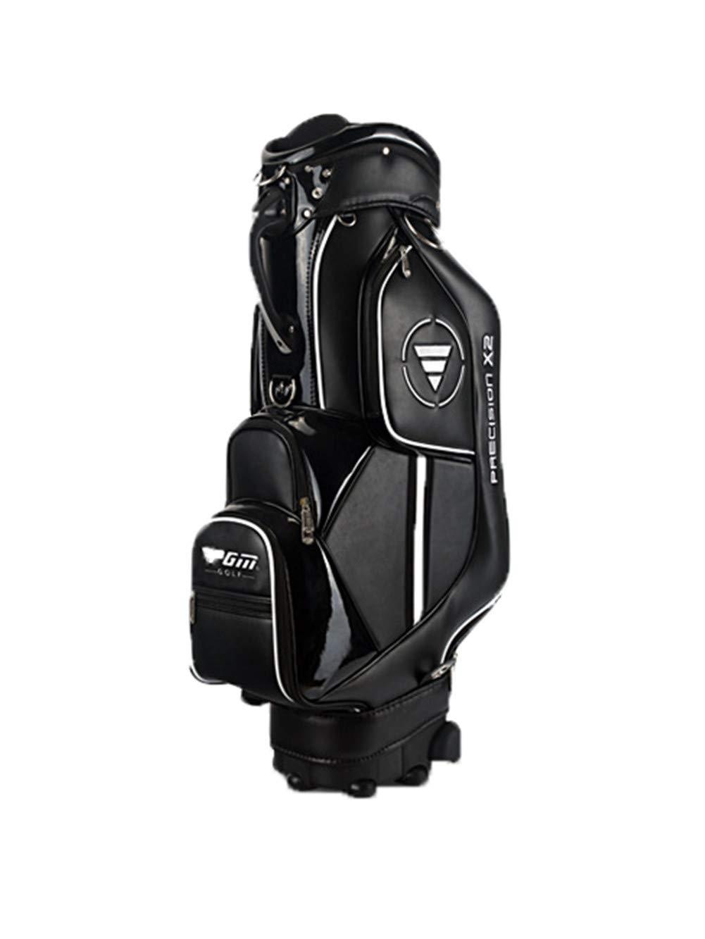 ゴルフクラブバッグウェイカートトロリーバッグカート防水素材とドライポケットシリーズゴルフトロリーカートバッグ B07K59G6JZ B