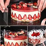 Cake Collars 4 x 394inch, Picowe Acetate