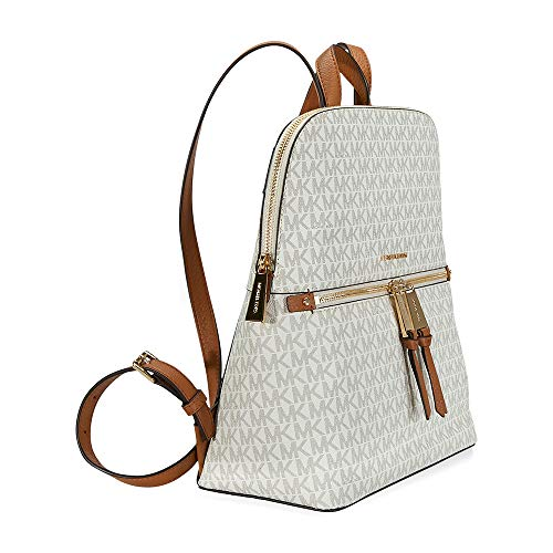 a86e8ae0a596 MICHAEL Michael Kors Rhea Medium Slim Backpack (Signature - Import ...