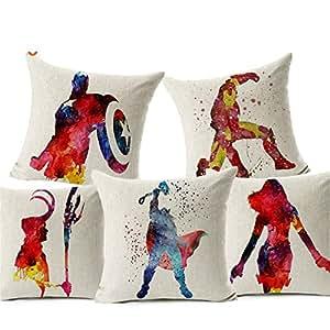 Marvel Comics Super Hero funda para cojín Capitán América ...