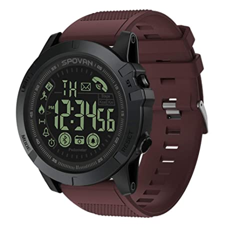 T1 Tact Grado Militar Super Resistente Reloj Inteligente Reloj de Deportes al Aire Libre Mens Digital