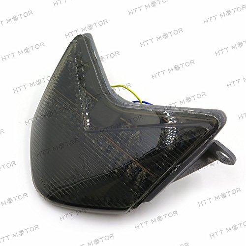 HTTMT- SMOKE Tail Light For 2005 2006 Kawasaki Ninja ZX-6R/ZX636/ZX-6RR/ZX600/Z750S- 2006-2007 (Zx6r Tail)