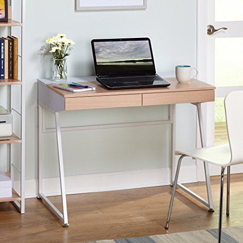 Target Marketing Systems Two-Toned Eleanor Computer Desk