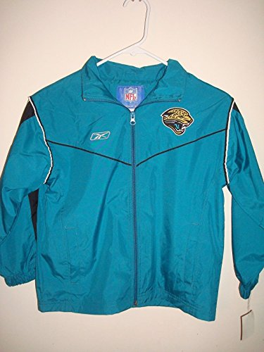 REEBOK NFL JACKSONVILLE JAGUARS YOUTH SIZE 8 WINDBREAKER JACKET ()