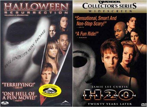 Halloween H2O - Twenty Years Later / Resurrection (2 pack)