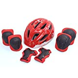 ADMIRE Child KidsInfant Toddler Youth Cycling Bicycle Riding Bike Multi-SportOutdoor Activities Helmet with Safety Protective Gear Knee Pads Elbow Pads Wrist Guards for 3-10 Years Old Boys and Girls