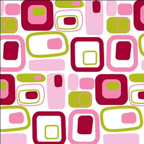 Wall Pops Removable Designs Go Retro Pink Blox