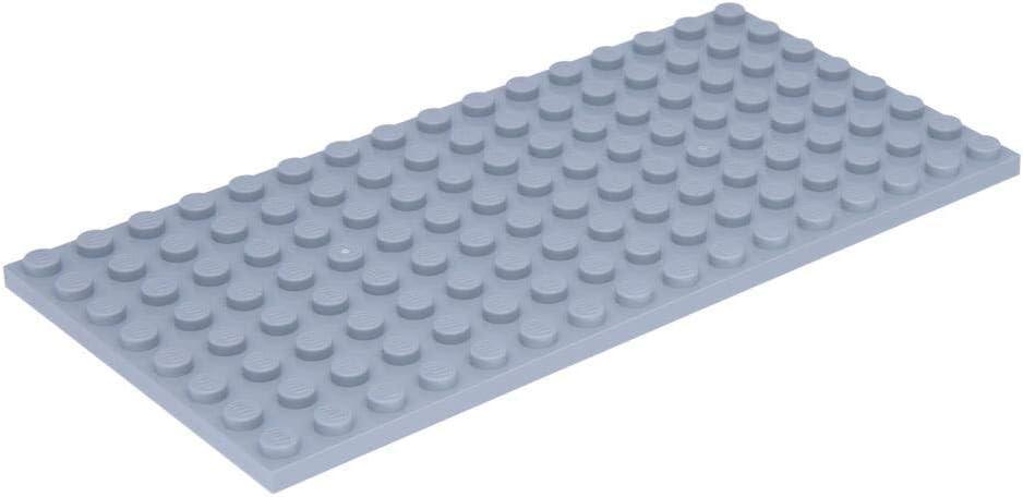 LEGO Platte 8 x 16 Hellgrau (Neugrau)